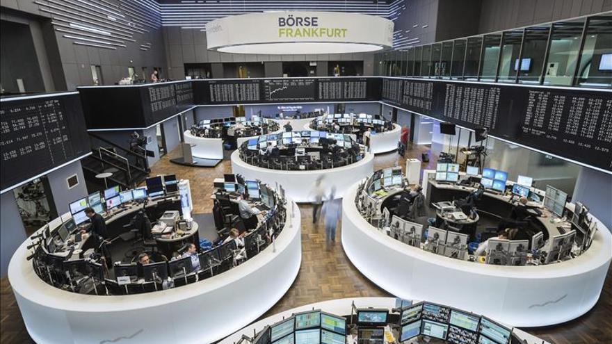 La Bolsa de Fráncfort sube un 0,22 % en la apertura