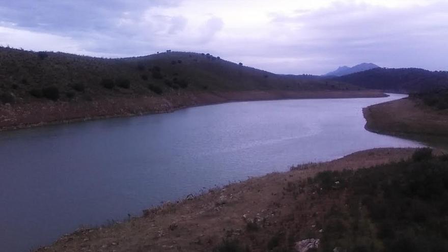 Río Matachel, donde ocurrieron los hechos