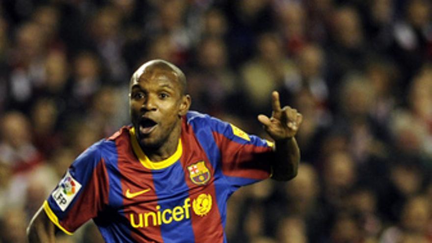 Eric Abidal FC Barcelona