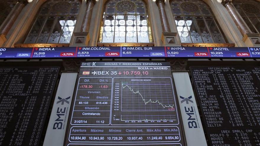 La Bolsa española sube un 0,22 % en la apertura y busca los 9.000 puntos