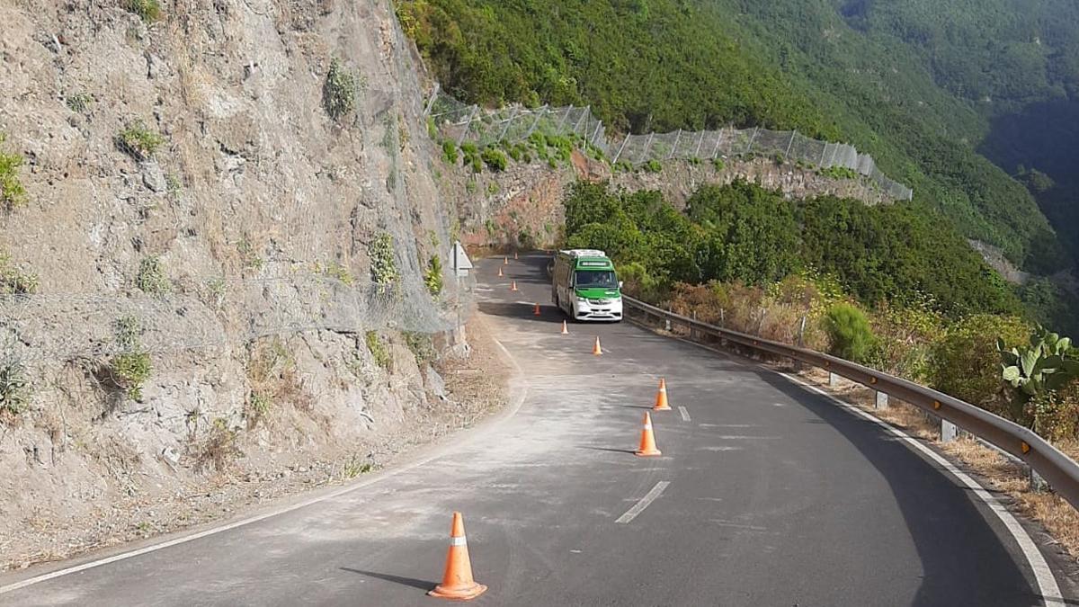 El tráfico en la vía será por tramos horarios.