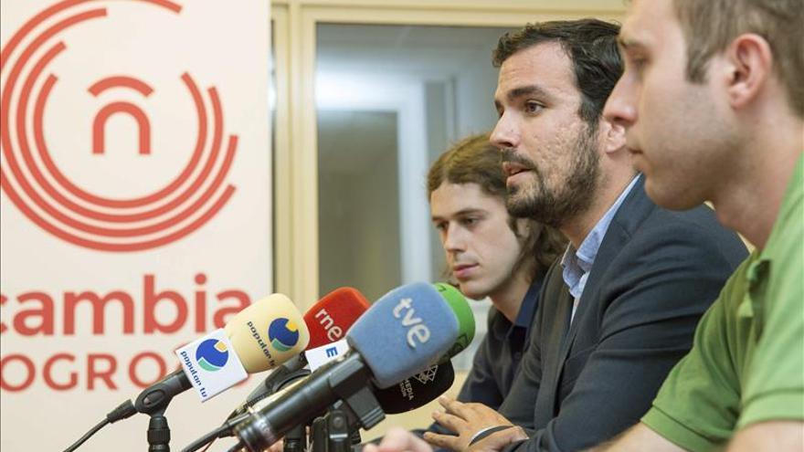 """Garzón afirma que Díaz hace """"puro autoritarismo"""" con el Parlamento andaluz"""