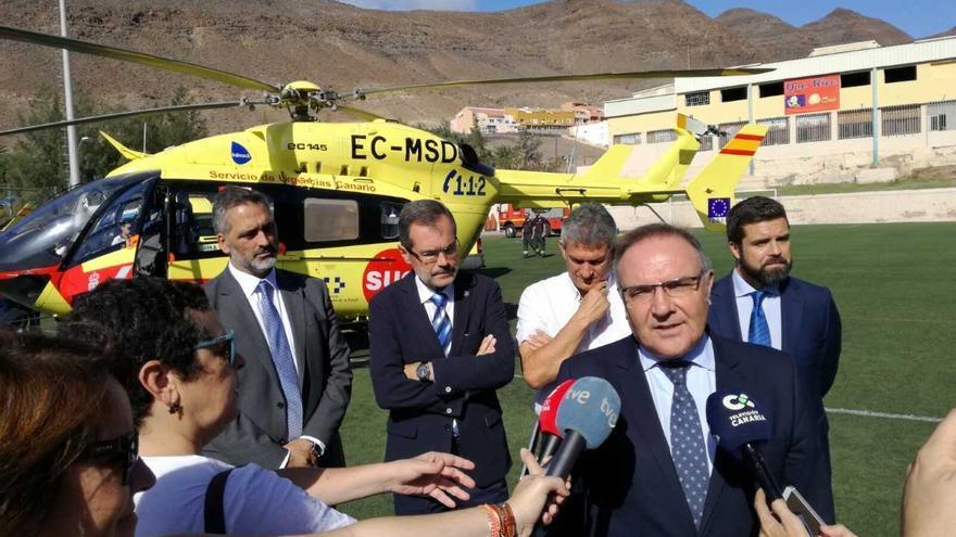 Presentación de los nuevos helicópteros del SUC.