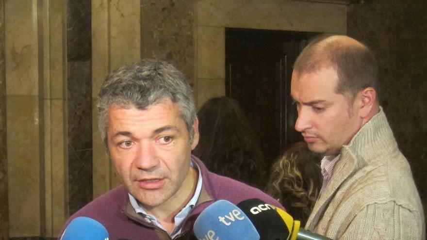Amorós (ERC) dice que el anhelo de cambio político en Cataluña lo expresa la independencia