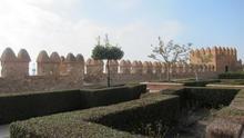 Cultura valora las obras de emergencia en la muralla norte de La Alcazaba en 28.600 euros