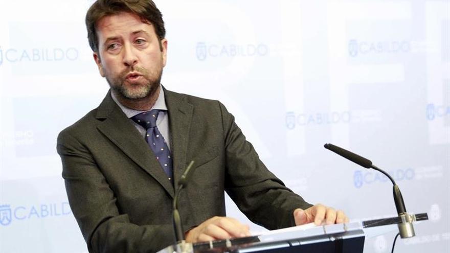 Carlos Alonso, presidente del Cabildo de Tenerife / Cristóbal García/EFE