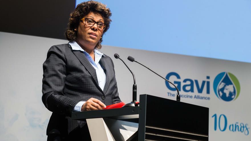 Nazira Abdula, ministra de Salud de Mozambique.
