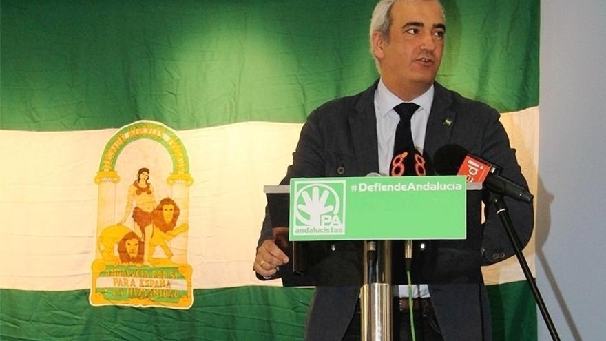 Ruiz asegura que el PA no volverá a presentarse a unas elecciones y niega contactos con Ciudadanos