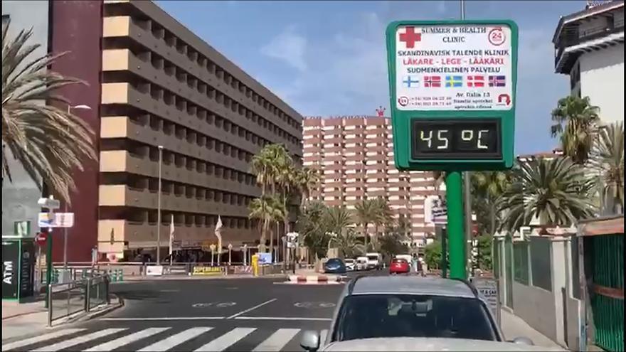 Agosto fue uno de los meses más calurosos en Canarias en más de 50 años