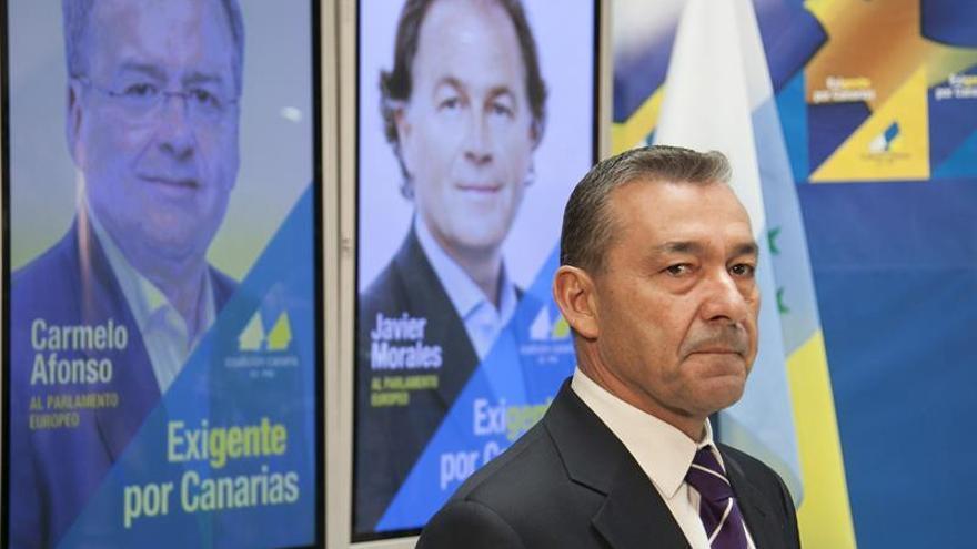 Paulino Rivero, presidente del Gobierno de Canarias.