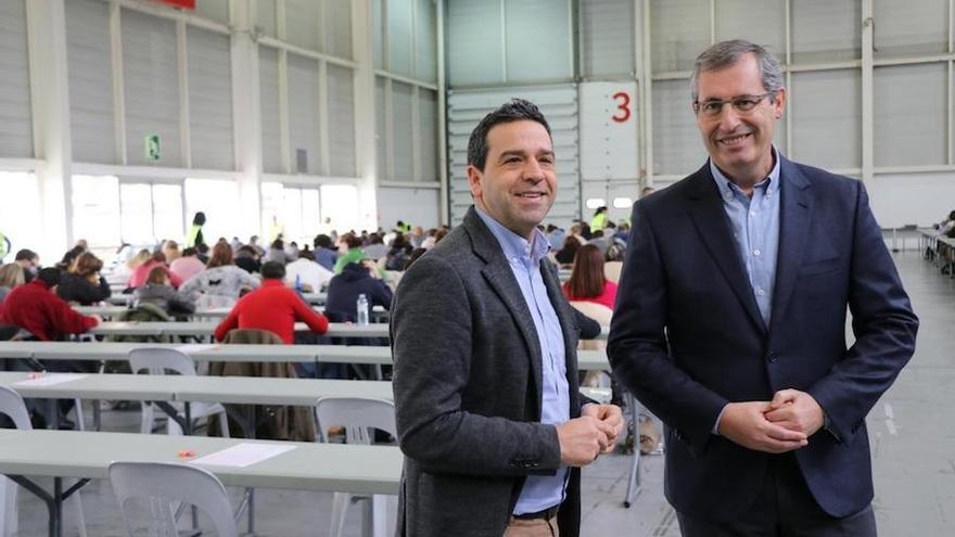 Arrancan en Ficoba los exámenes de la OPE de 35 plazas de técnico contra el fraude fiscal de Gipuzkoa