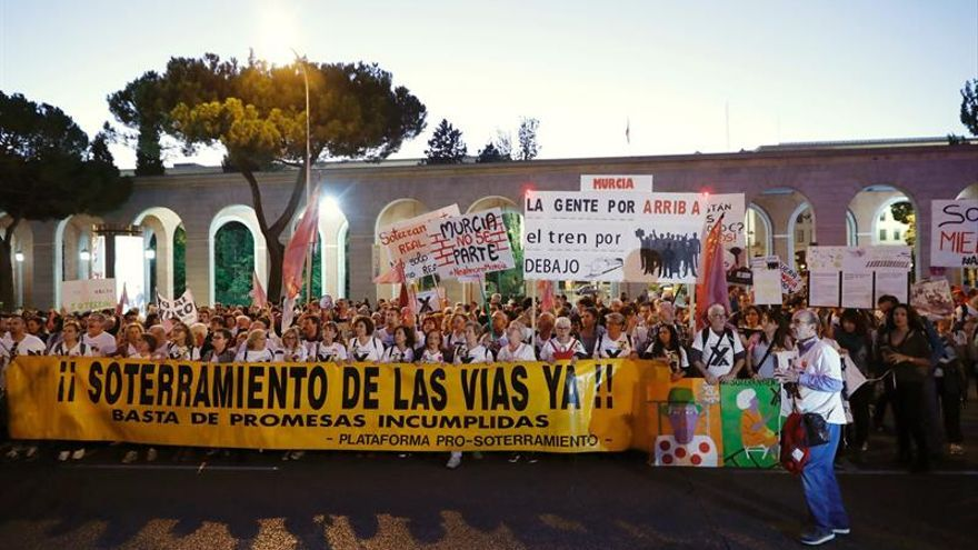 El Gobierno autoriza 583 metros más soterrados del AVE a Murcia por 17 millones