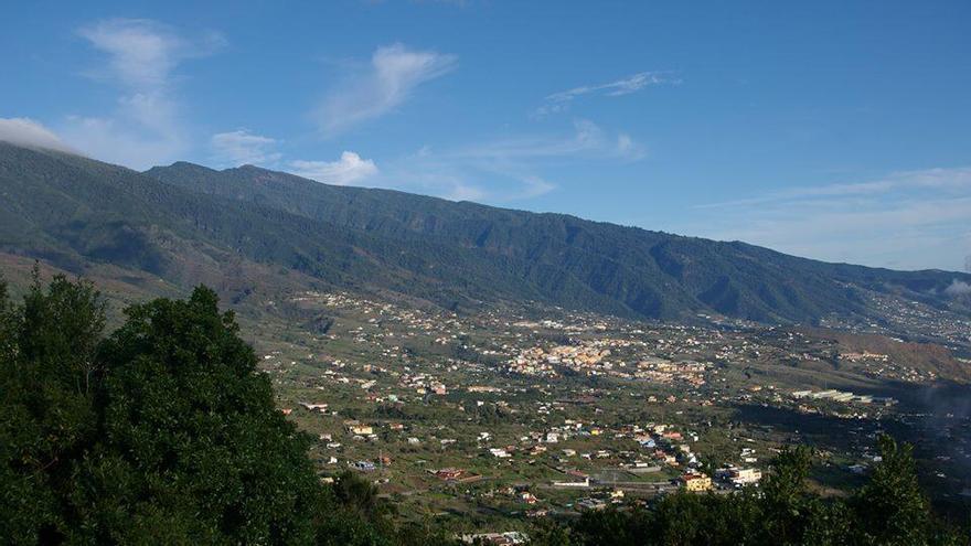 Imagen de archivo de la zona este de La Palma.