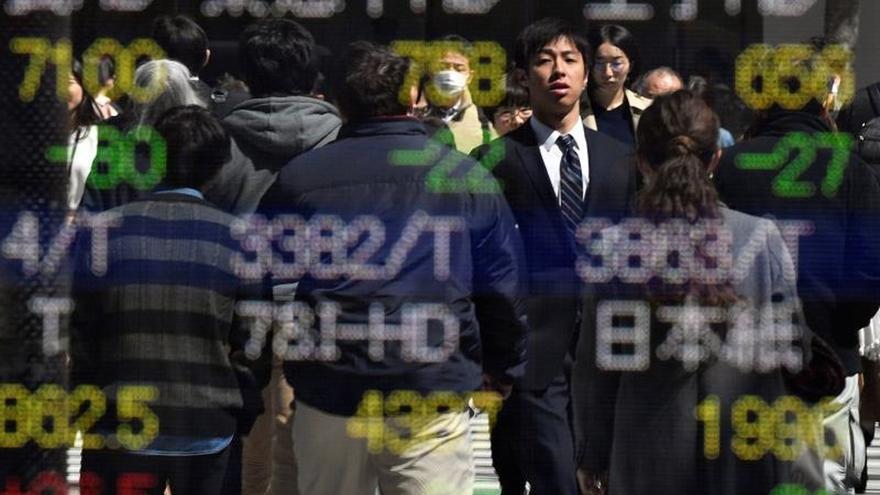 La Bolsa de Tokio cae un 0,58 % en la apertura hasta los 20.242,43 puntos