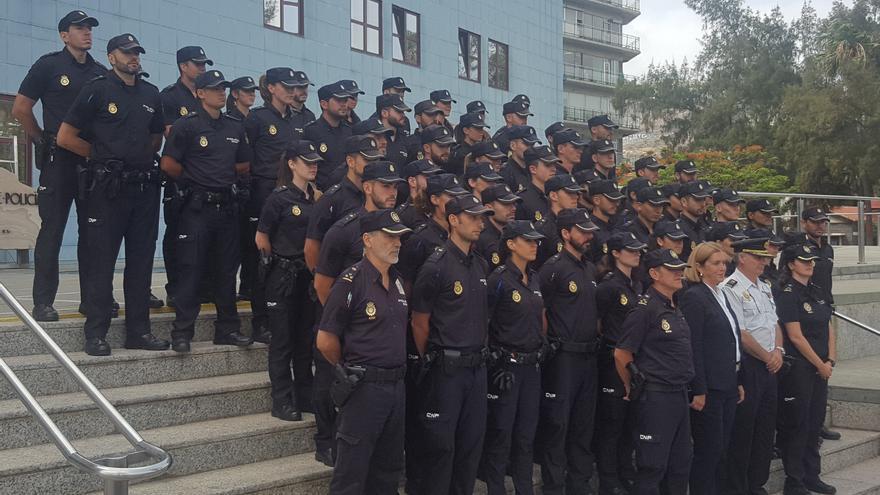 Presentación de la incorporación de 114 agentes en prácticas en las Islas.