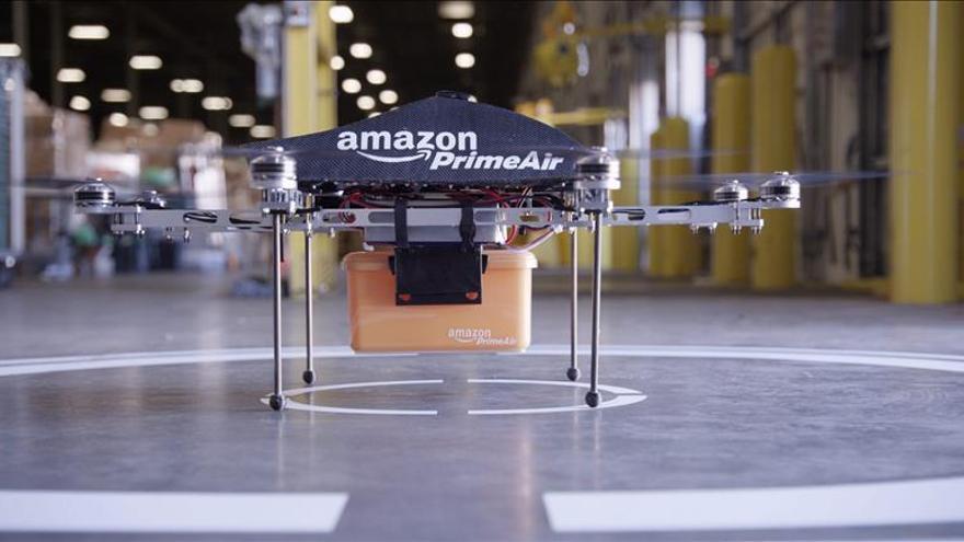 """Los """"drones"""" que planea Amazon causan revuelo en internet"""