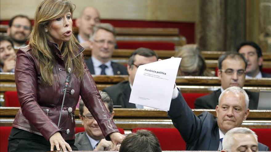 """Sánchez Camacho avisa de que llevará al TC """"todo lo que esté al margen de la ley"""""""