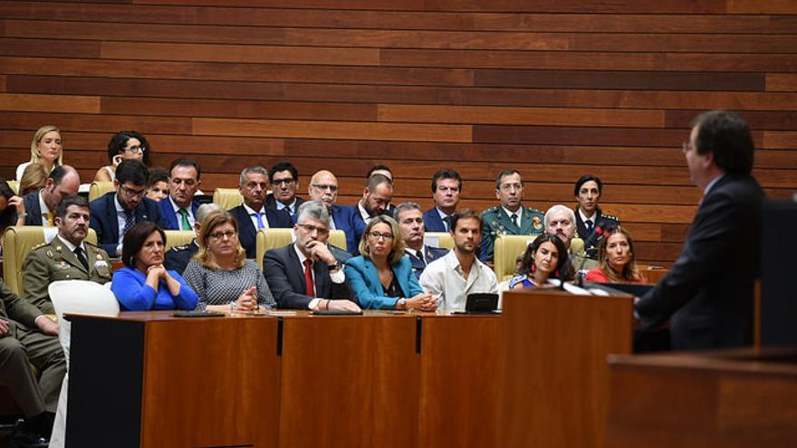 Fernandez Vara Asamblea Día Extremadura