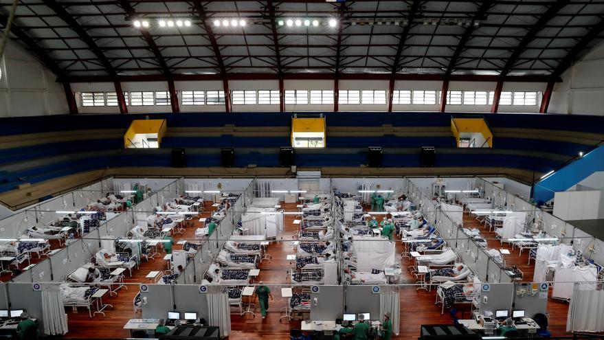Brasil registra el menor promedio de muertes diarias por covid-19 en cinco meses
