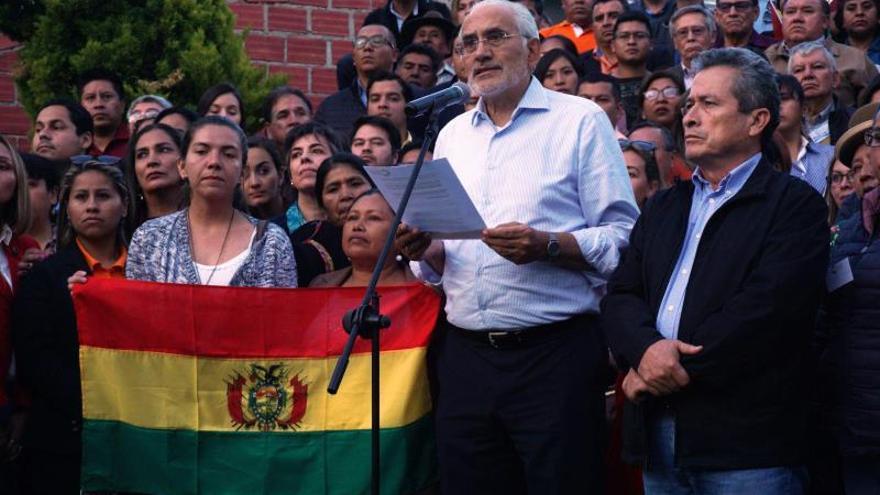 Un ultimátum para que Evo Morales se vaya vuelve a tensar la crisis boliviana