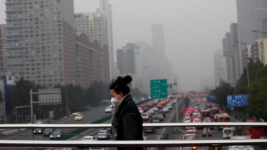 China admite un aumento de la polución atmosférica en lo que va de 2017