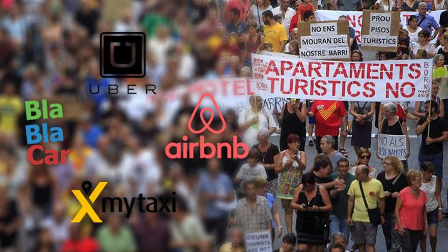 Uber, Blablacar, Airbnb...armas de doble filo