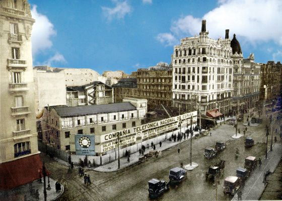 Edificio de la Telefónica. 1926
