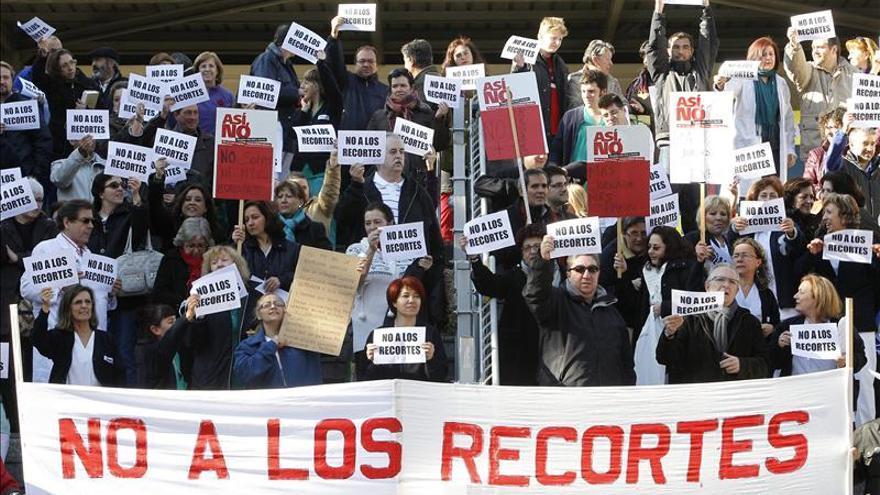 Sanidad cifra el seguimiento de la huelga en un 4,6 por ciento y los sindicatos entre 50 y 63 por ciento