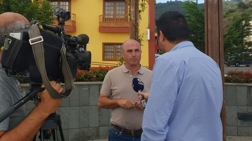 Victor Guerra, nuevo alcalde de Puntallana a partir de este sábado.