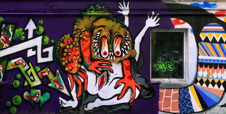 El mural en la actualidad