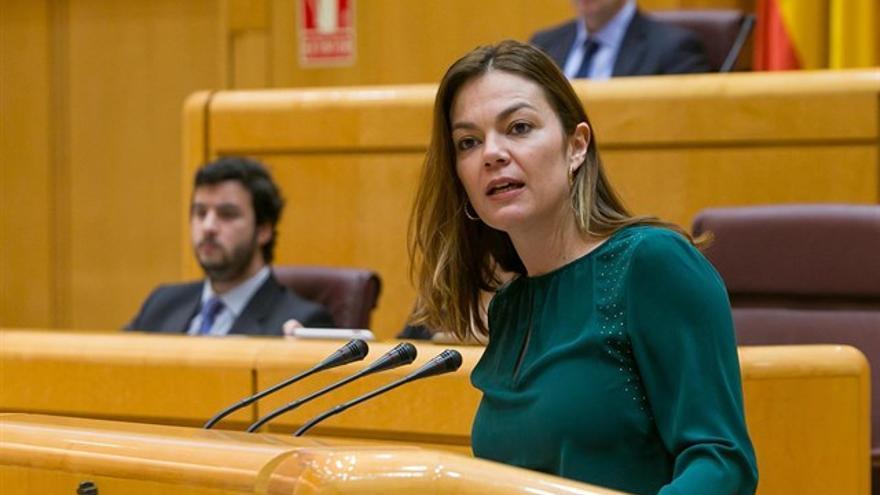 María José López, senadora de Nueva Canarias por Gran Canaria