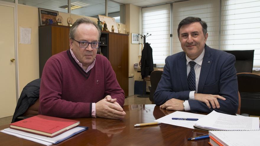 El Gobierno de Cantabria estudiará acondicionar una zona en el Pantano del Ebro para la práctica de remo olímpico