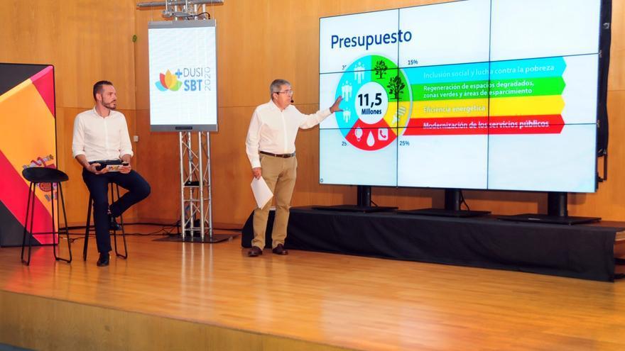 Presentación de la Estrategia de Desarrollo Urbano Sostenible e Integrado de San Bartolomé de Tirajana.
