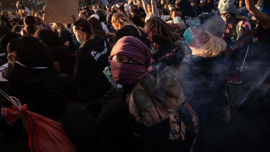 Preocupación por la propagación del coronavirus en las manifestaciones contra el racismo de EEUU