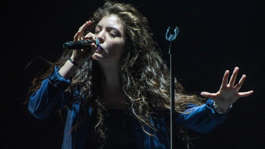 La cantautora Lorde