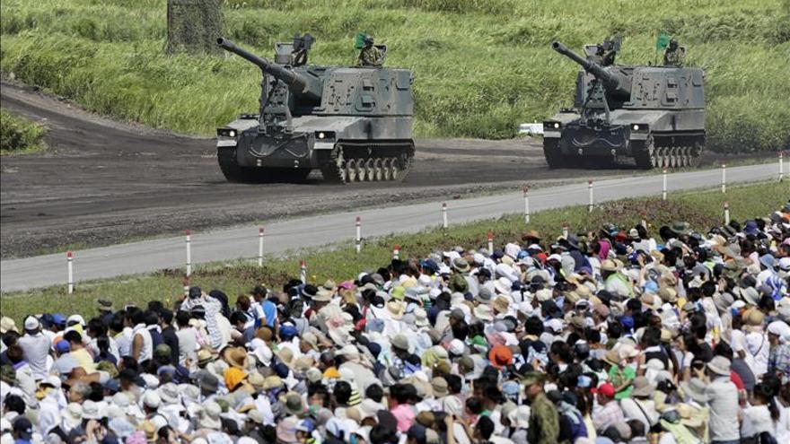 Japón prevé otro presupuesto récord en defensa para el próximo ejercicio