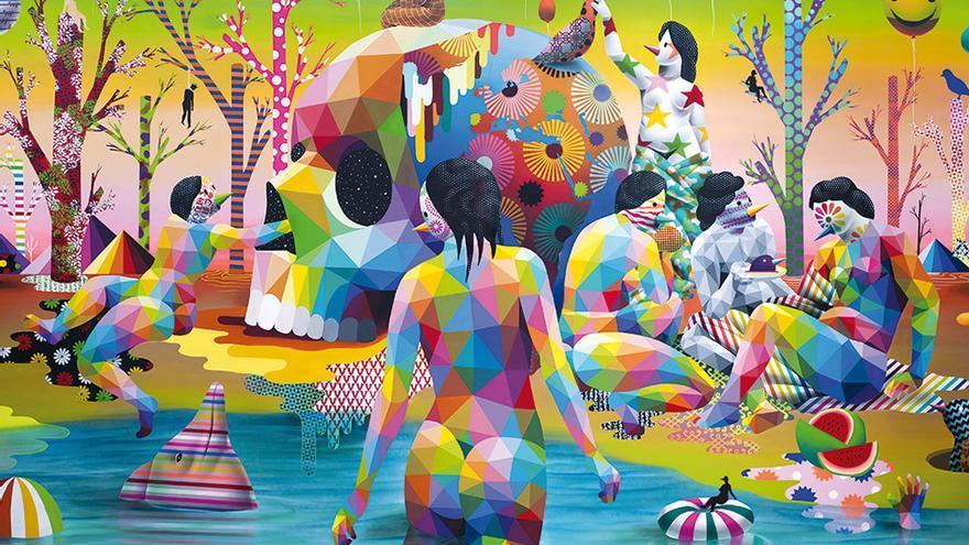 'El lago del deseo'. Okuda