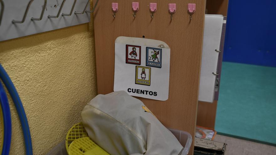 Cuentos de aula de Infantil de un colegio. Archivo