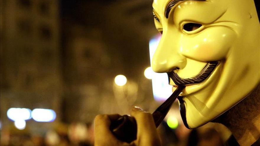 Anonymus hackeó la página web de la presidencia de Perú