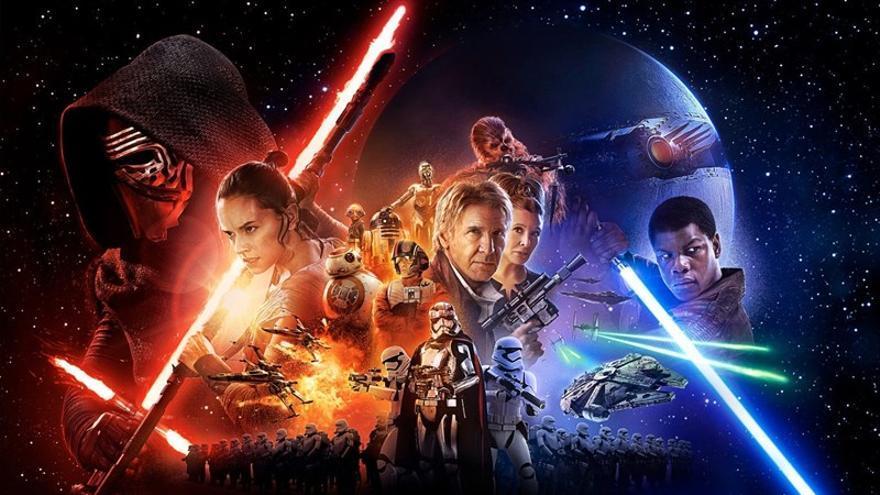 'Star Wars: El Despertar de la Fuerza'.