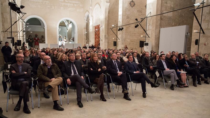 Imatge de l'acte celebrat a Xàtiva