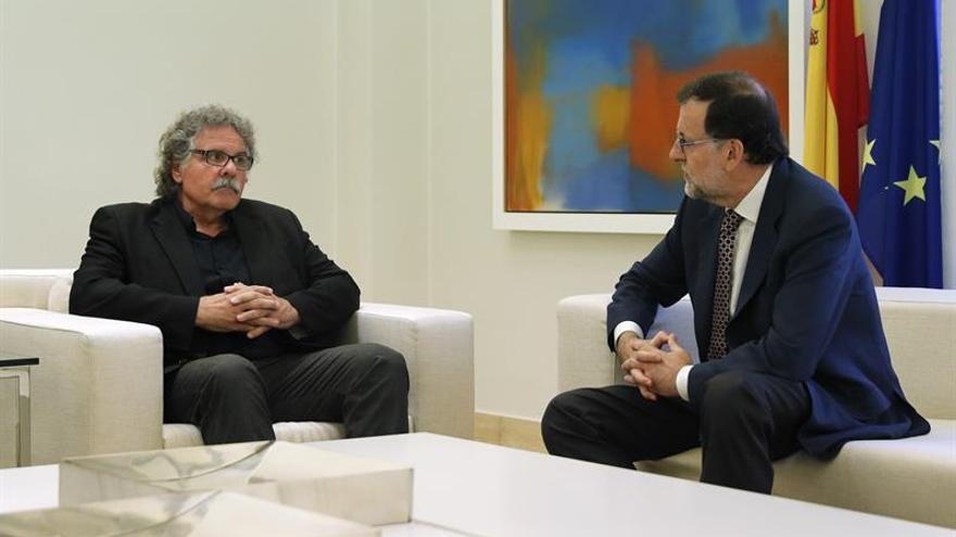 Rajoy recibe a ERC consciente de que no facilitará su investidura