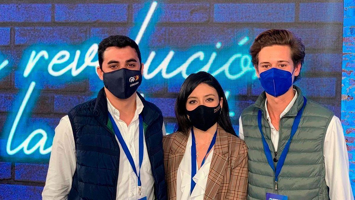 Cintia Bustos, Juan González-Ripoll y José Carlos García.
