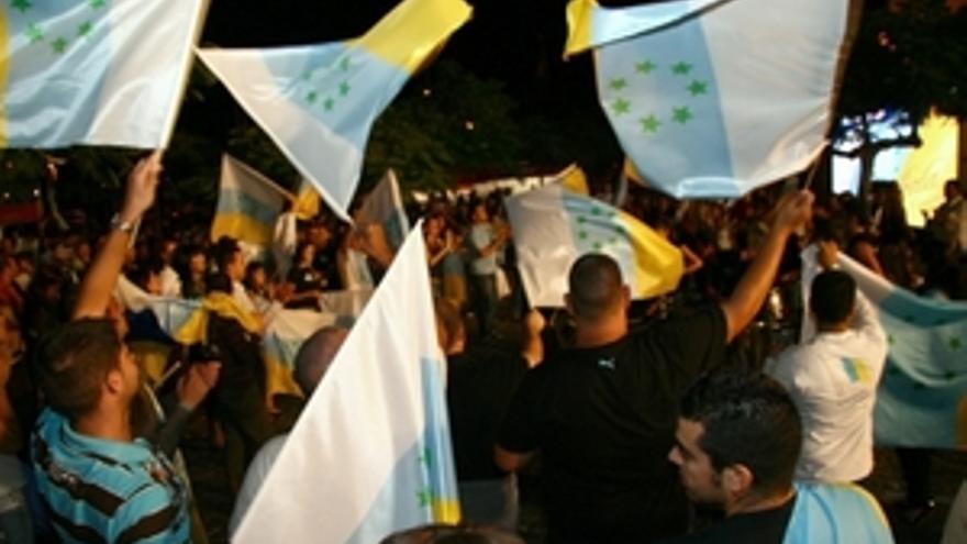 Independentistas canarios abren el ''año de la descolonización''