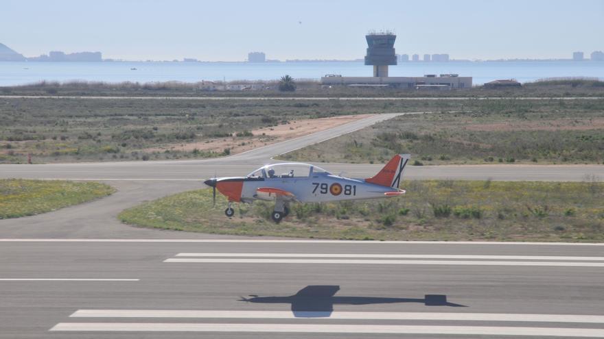 Aeropuerto de San Javier, en Murcia / FOTO: EdA