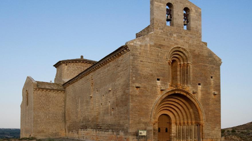 """Sender escribió que la ermita de Chalamera """"es la más puramente románica y la más notable arquitecturalmente de todas las que he visto en mi vida""""."""