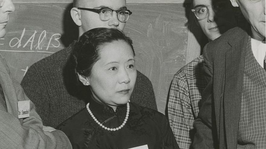Chien-shiung Wu, en una imagen de archivo