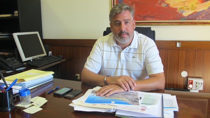Jorge González es consejero de Infraestructuras y Nuevas Tecnologías.