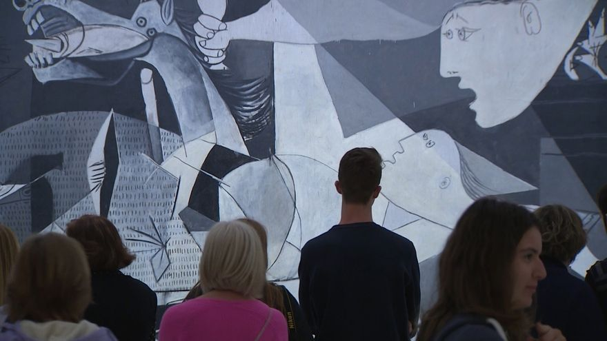 El Parlamento vasco pedirá hoy el traslado del 'Guernica' de Picasso a Euskadi