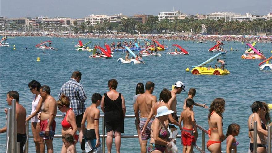 Récord del gasto de los turistas extranjeros hasta julio, con 34.497 millones